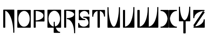 Glaukous - Viscous Font UPPERCASE