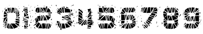 Glaz Krak solid Font OTHER CHARS