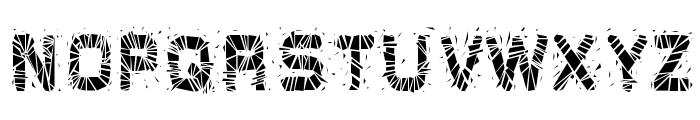 Glaz Krak solid Font UPPERCASE