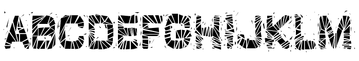 GlazKrak-Regular Font UPPERCASE