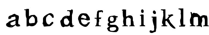 Gleam Font LOWERCASE