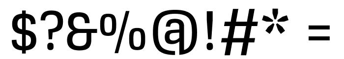 Glegoo Bold Font OTHER CHARS