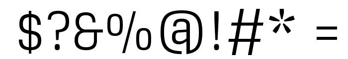 Glegoo Font OTHER CHARS