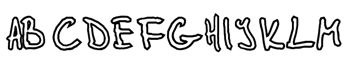 Glidepath Font UPPERCASE