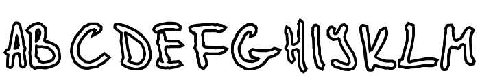 Glidepath Font LOWERCASE