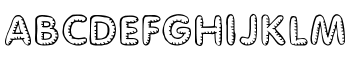 Glimstick Font UPPERCASE