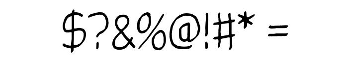 Glingzerminator Font OTHER CHARS