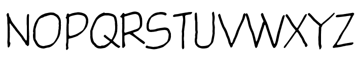 Glingzerminator Font UPPERCASE