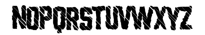 Glitchland Font UPPERCASE