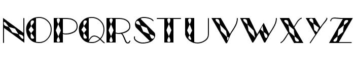 GlitzyJewel Regular Font UPPERCASE