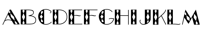 GlitzyJewel Regular Font LOWERCASE