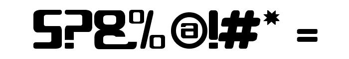Glix Font OTHER CHARS