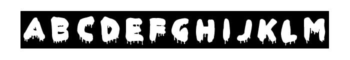Global Terror Font LOWERCASE