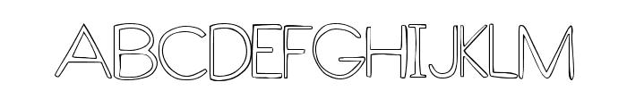 GlobalVillage Font UPPERCASE