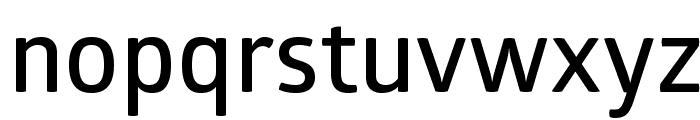 GloberSemiBoldFree Font LOWERCASE