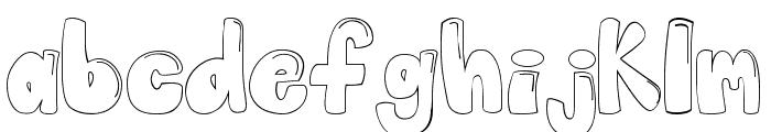Globo Font LOWERCASE