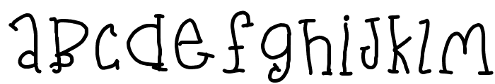 Gloomy Font LOWERCASE