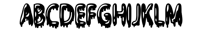 Gloop Font UPPERCASE
