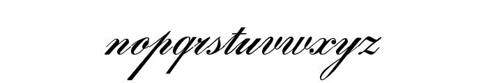 Gloria script Font LOWERCASE