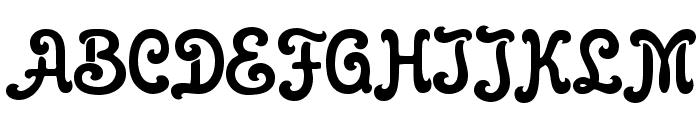 Gloria Font UPPERCASE