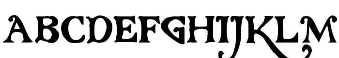 Gloriana Font UPPERCASE