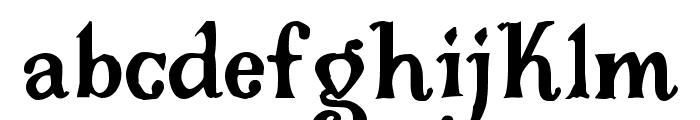 Gloriana Font LOWERCASE