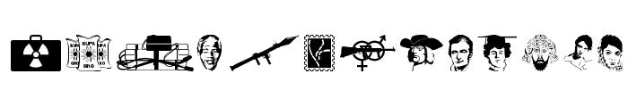Glorifying Terrorism Font UPPERCASE