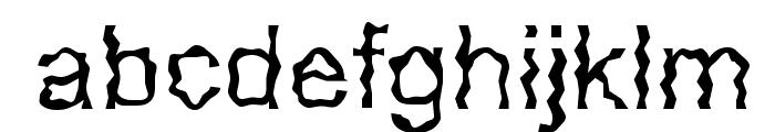 Glorija and theSmiths Font LOWERCASE