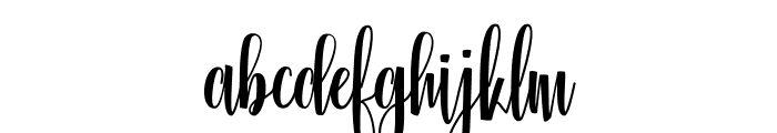 Glorious Free Font LOWERCASE
