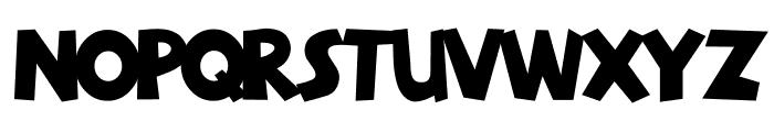 GloryUnited Font LOWERCASE