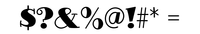 GlotonaBlack Font OTHER CHARS