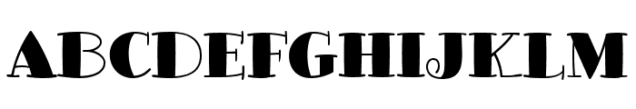 GlotonaBlack Font UPPERCASE