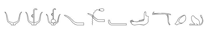 GlyphBasic2 Font OTHER CHARS