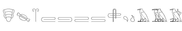 GlyphBasic2 Font UPPERCASE