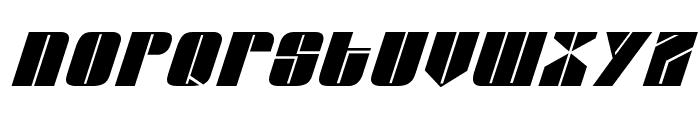 Glypic Italic Font LOWERCASE