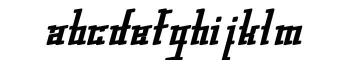 gleesteak Font LOWERCASE