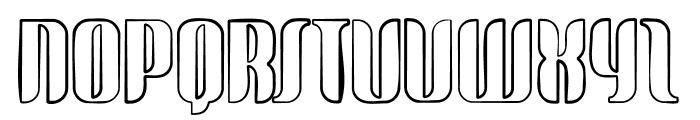 glide sketch sketch Font UPPERCASE