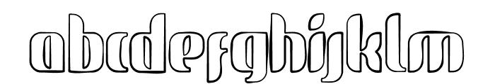 glide sketch sketch Font LOWERCASE