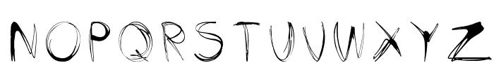glow-carro-danish-spiik Font UPPERCASE
