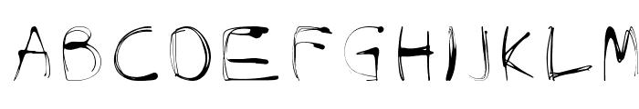 glow-carro-danish-spiik Font LOWERCASE