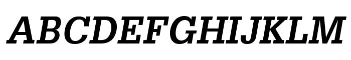 GlyphaLTStd-BoldOblique Font UPPERCASE