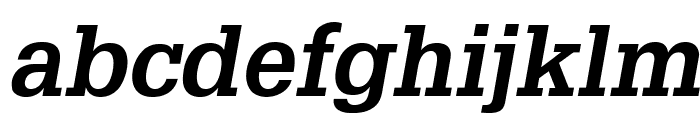 GlyphaLTStd-BoldOblique Font LOWERCASE