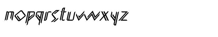 Glamwords Italic Font LOWERCASE