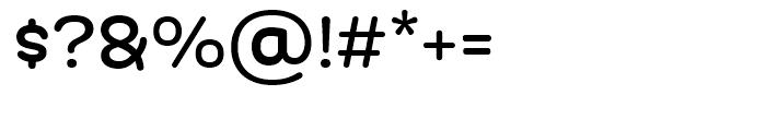 Globa Regular Font OTHER CHARS