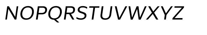 Global Book Italic Font UPPERCASE