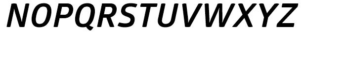 Glober Bold Italic Font UPPERCASE