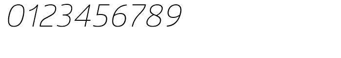 Glober Light Italic Font OTHER CHARS