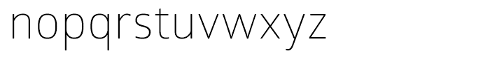 Glober Light Font LOWERCASE