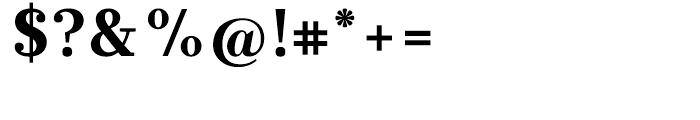 Glosa Black Font OTHER CHARS