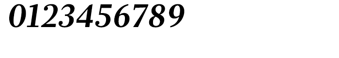 Glosa Bold Italic Font OTHER CHARS